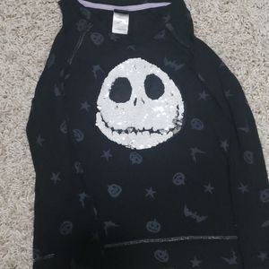 Girls Disney Jack Skeleton shirt